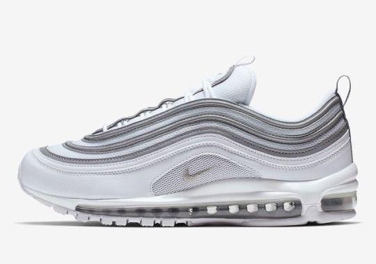 Nike Air Max 97 white and metallic silverNike | Sneakerando