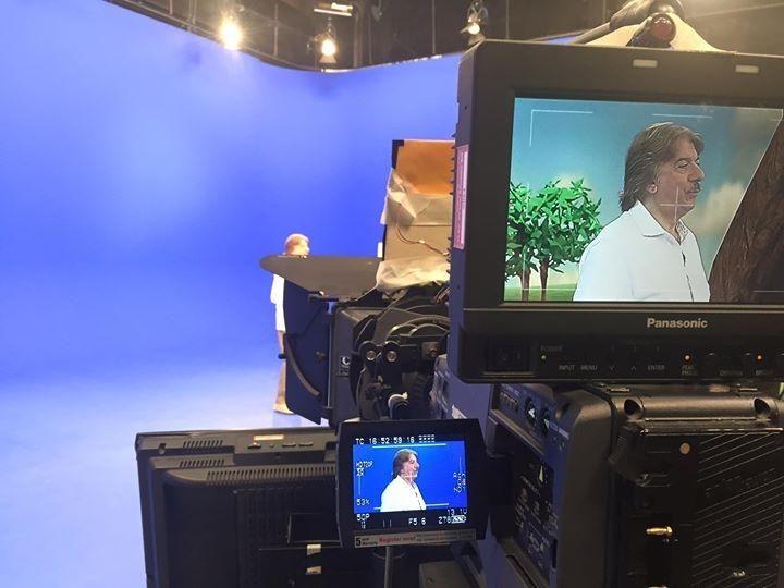 Alle #telepromozioni con il sempreverde Marco Columbro! #affidatiaiProfessionisti #TeleprompterItalia
