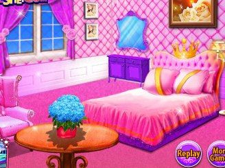 Play Realistic Princess Room On Barbie Games
