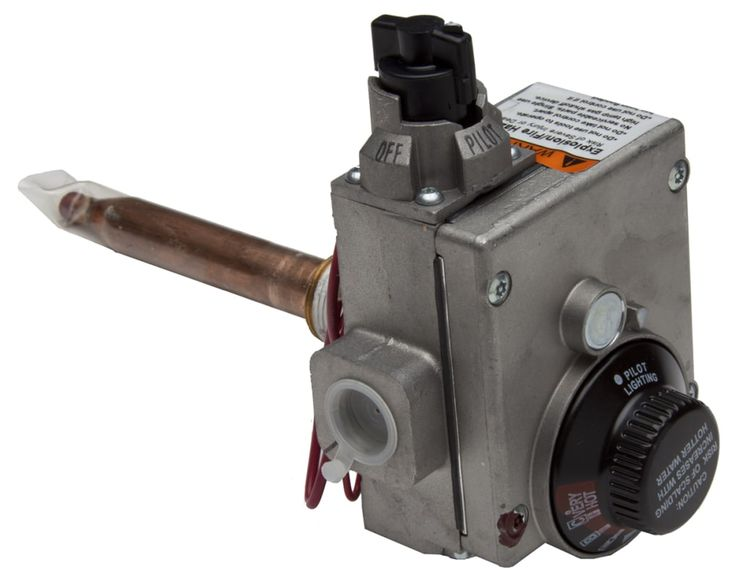 ProSelect PSW12406 Control Valve and Thermostat for Natural Gas Water Heaters Water Heaters Part Control Valve