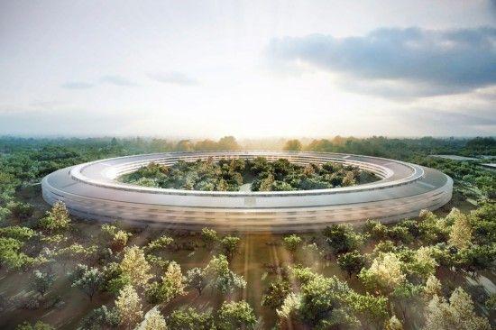 le nouveau QG de Apple!!