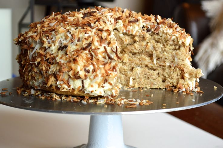 Coconut Banana Cake! This amazing vegan cake is perfect for any ...