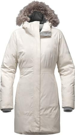 The North Face Women's Arctic Down Parka II Vintage White XS