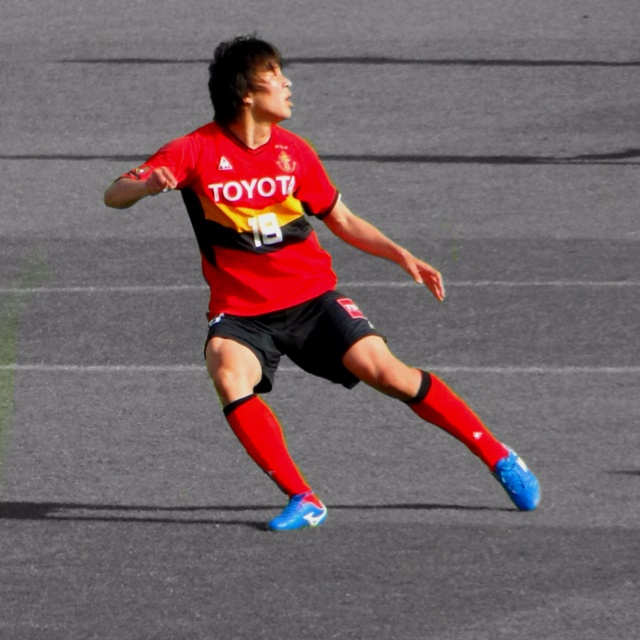 Nagoya Grampus #18  Kensuke Nagai