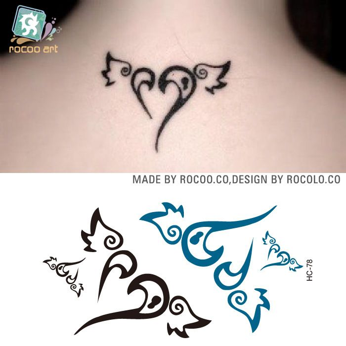 Online Buy Wholesale flower neck tattoo from China flower neck ...