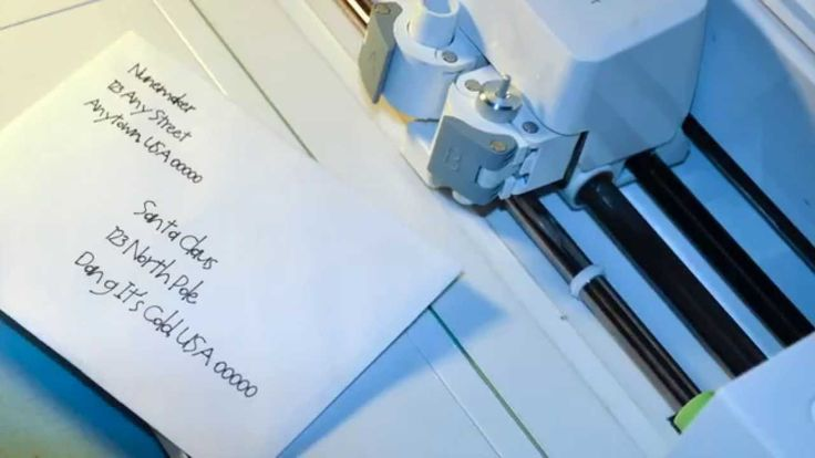 How to Address an Envelope with Cricut Explore & Design Space                                                                                                                                                                                 More