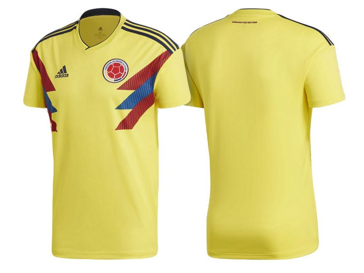Colombia 2018 World Cup Home Jersey Shirt