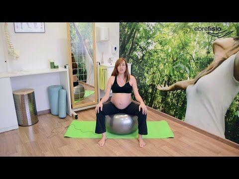 Ejercicios de suelo pélvico para embarazadas - YouTube #pilatesparaembarazadas