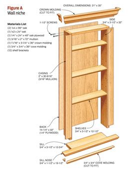 How to build an in-the-wall Niche for extra bathroom storage in small spaces...will definitely need this someday if we stay in the same house!