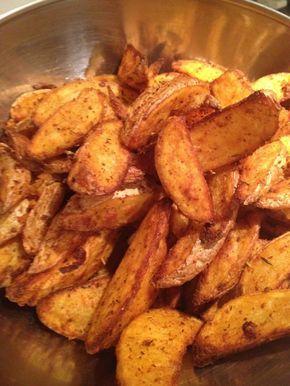 Voici une recette tirée du livre de l'actifry que l'on peut évidement adapter au four tout simplement ! J'adore les potatoes au fast food ... j'avais envie d'essayer à la maison ! pour 4 pers 4 pp / pers (weight watchers) -600 g de pomme de terre (avec...