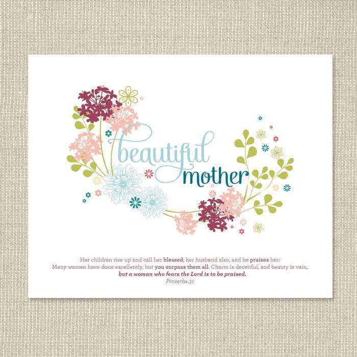 Mother's Day Free Printable | www.ashleeproffittdesign.blogspot.com
