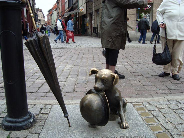 Moderne kunst på Toruns gader