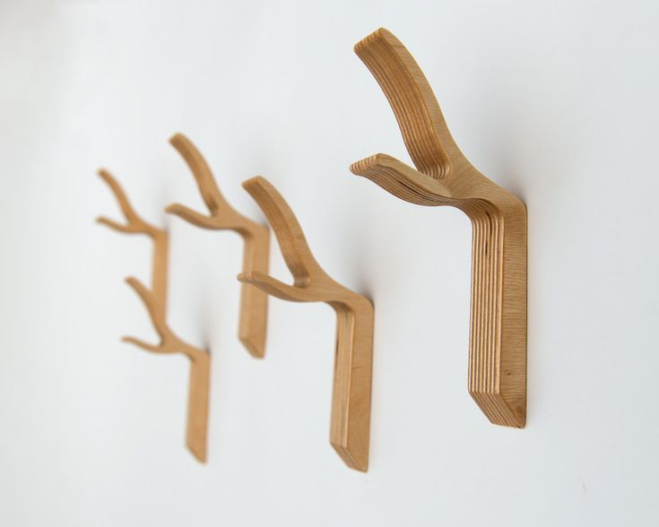 Branch Wall Hook, Modern Twig Hook, Wooden Coat Hook,Twig Coat Hook, Modern  Wood Hook, Twig Wall Hook, Small Size, Storage And Organization
