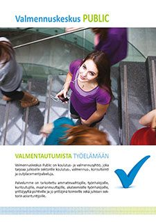 Valmennuskeskus Public, brochure
