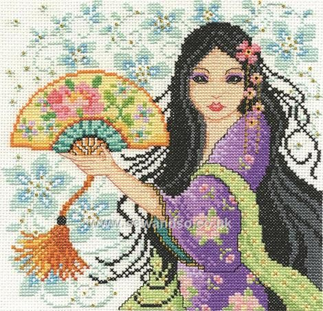 Shop online for Geisha Cross Stitch Kit at sewandso.co.uk. Browse our great range of cross stitch and needlecraft products, in stock, with great prices and fast delivery.