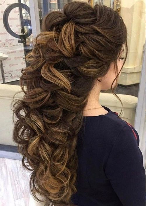 Cute Hairstyles For Prom 65 half up half down wedding hairstyles ideas Cute Hairstyles For Long Hair Best Haircuts For You