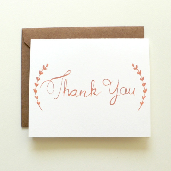 28 best We are Reich Paper Thank You Notes images on Pinterest - graduation thank you letter