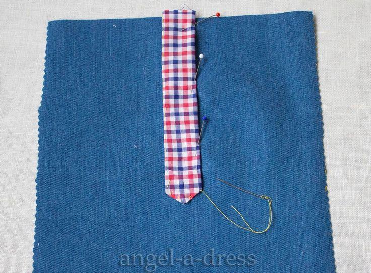 """Так можно обработать не только рукав, но и застежку на рубашке-поло. Планка рукава или рубашки поло: обработка застежки двумя обтачками. В примере рассмотрена раскладка для правого рукава или для """"женской"""" застежки."""