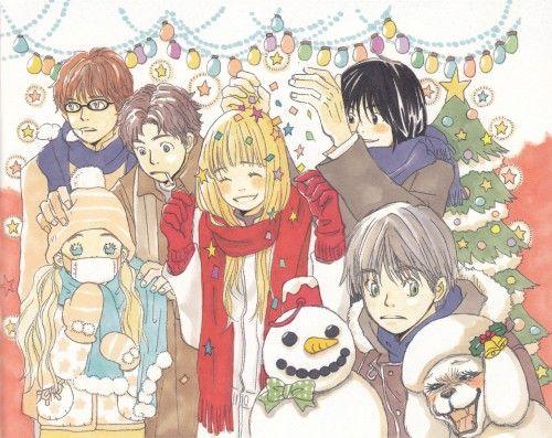 Chika Umino, Honey And Clover, Ayumi Yamada, Yuuta Takemoto, Hagumi Hanamoto