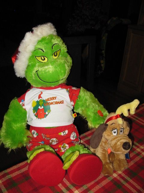build a bear Grinch and max | christmas | Pinterest | Grinch and Bears