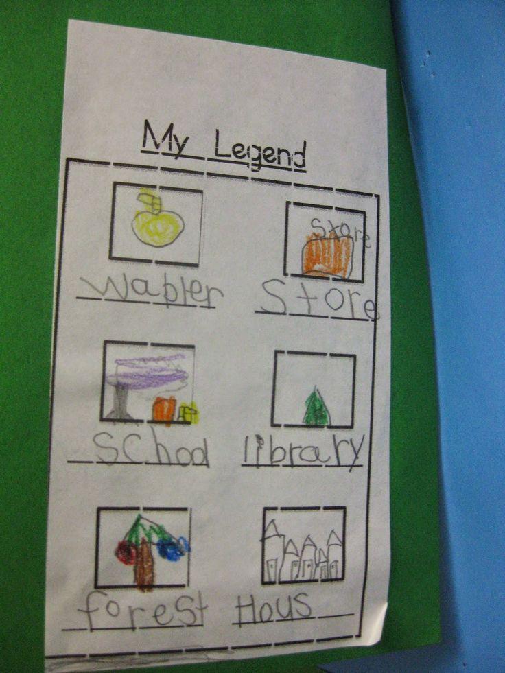 Kindergarten Corps: Social Studies In Kindergarten: Maps and Communities - FREE download link to blackline masters.