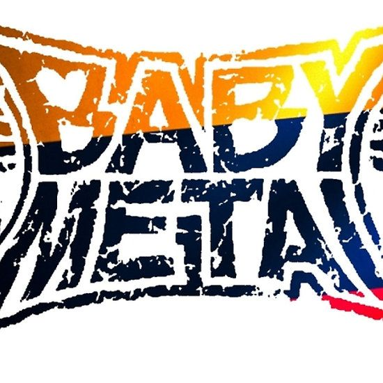 Columbia flag baby metal logo t shirts stickers and other gifts babymetal