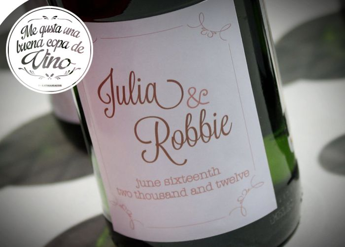 Personalized Wedding Ideas Custom Wine Labels For The Reception 1 Styles And