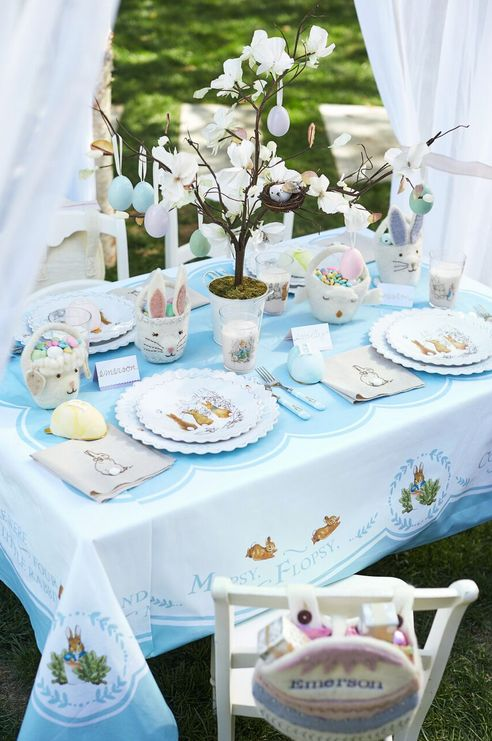 Find The Latest In Colorful Seasonal Spring Design With Pottery Barn Kids Easter Decorations For Home