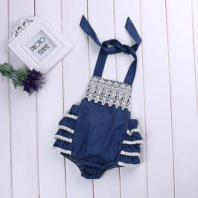 $4.05 (Buy here: https://alitems.com/g/1e8d114494ebda23ff8b16525dc3e8/?i=5&ulp=https%3A%2F%2Fwww.aliexpress.com%2Fitem%2F2017-Baby-Romper-Newborn-Baby-Girls-Clothes-Belt-Sleeveless-Jean-Lace-Floral-Ruffles-Romper-Jumpsuit-Outfits%2F32781843782.html ) 2017 Baby Romper Newborn Baby Girls Clothes Belt Sleeveless Jean Lace Floral Ruffles Romper Jumpsuit Outfits Sunsuit for just $4.05