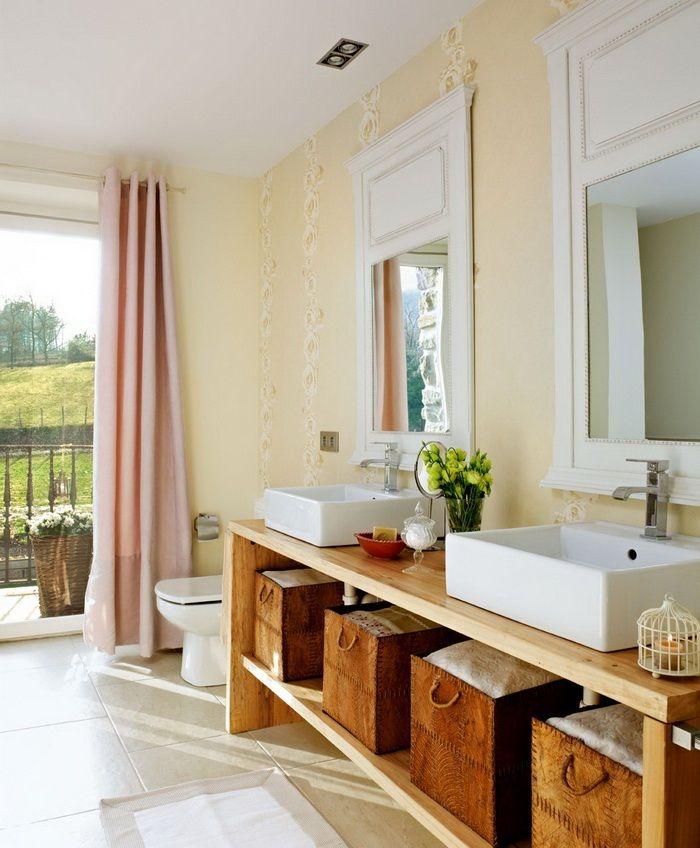 Earthy Bathroom Decorating Ideas 151 best baños images on pinterest   room, home and bathroom ideas