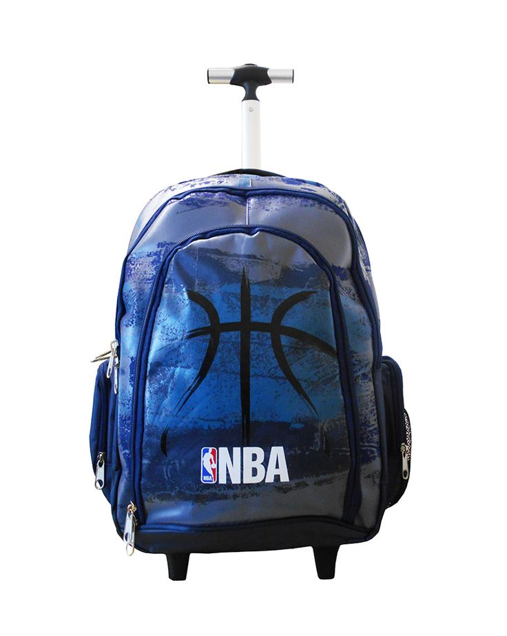 BACK ME UP TROLLEY ΔΗΜΟΤΙΚΟΥ NBA BLACK BALL (#305867) | Perfect Toys - Πανταζόπουλος