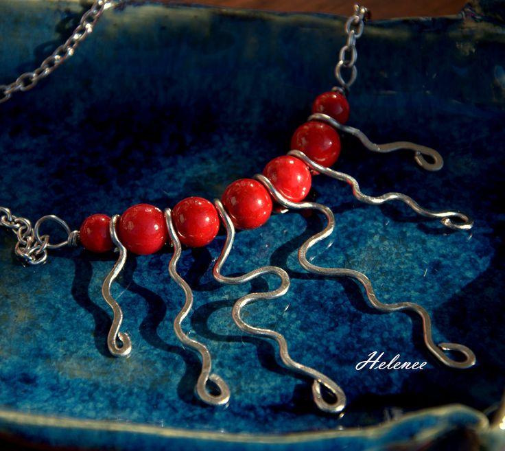 https://flic.kr/p/uiEGas | original wrought steel necklace from Helenee