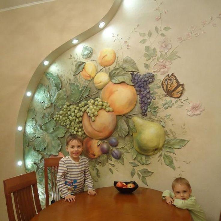 Фреска  / mural http://s-decora.ru/uslugi/freska