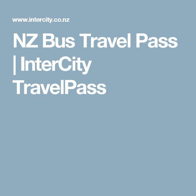 NZ Bus Travel Pass | InterCity TravelPass