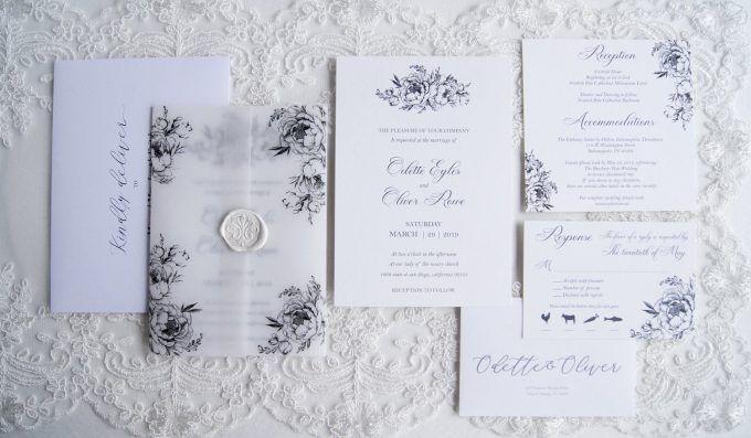 40 Most Creative Wedding Invitations 2020 Photos Emmaline Bride Creative Wedding Invitations Luxury Wedding Invitations Rose Wedding Invitations