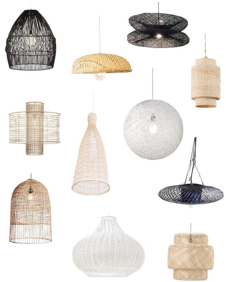 "47 Likes, 2 Comments - Ashley Scott & Britt Kohli (@scoutedhome) on Instagram: ""A few woven pendants we're into up on our blog!! // link in bio"""