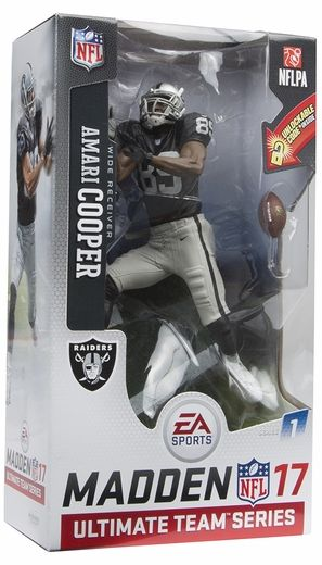 Amari Cooper (Oakland Raiders) EA Sports Madden NFL 17 Ultimate Team Series 1 McFarlane