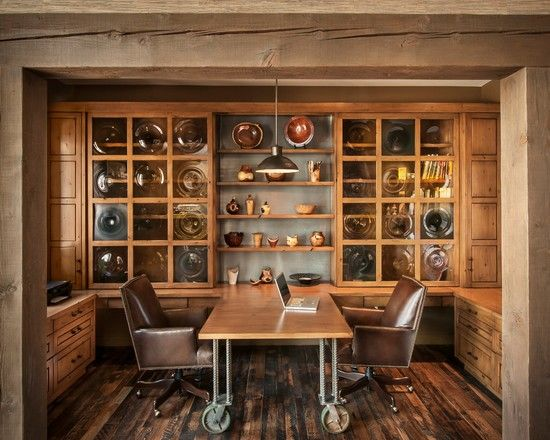 Home Office Wall Ideas: Best 25+ Rustic Home Offices Ideas On Pinterest