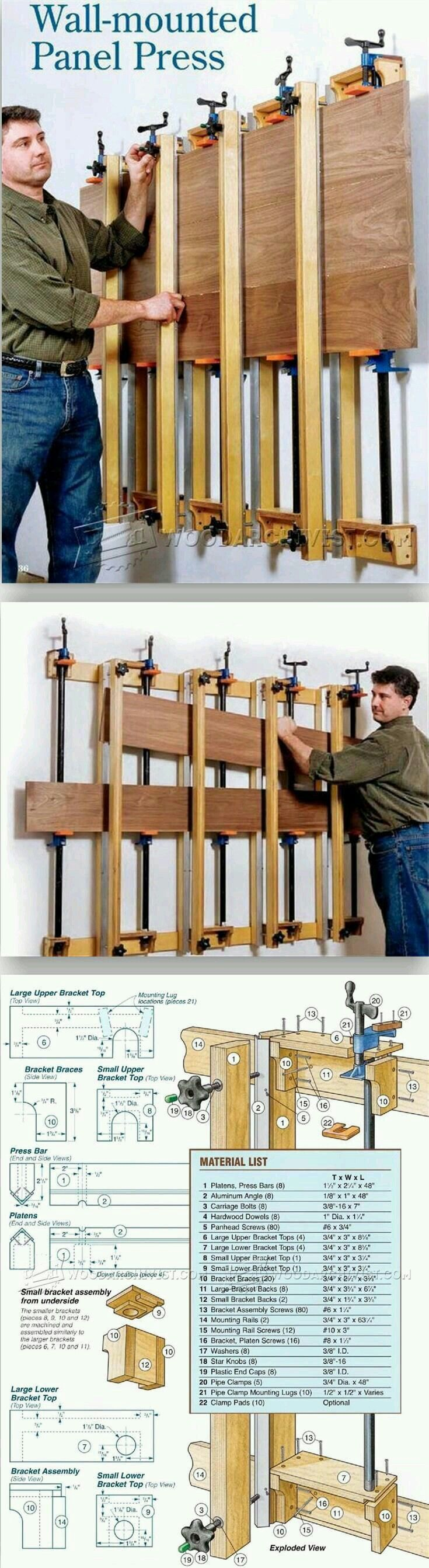 Gluing board together