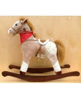 """Zi-toys Детская музыкальная качалка """"Лошадка Принца"""",с эффектами."""