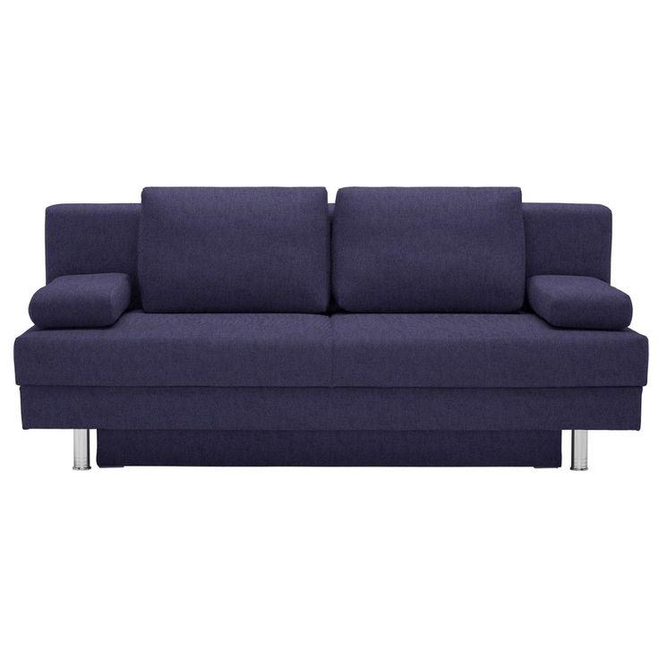Die besten 25+ Schlafsofa blau Ideen auf Pinterest Industrielle - sofa kleines wohnzimmer