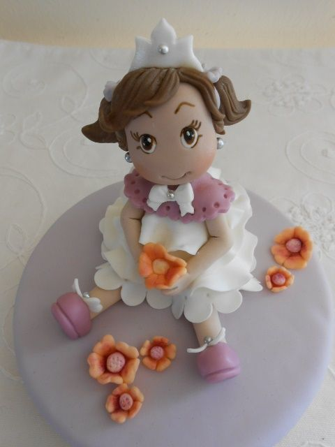 Una dolce principessa: tutorial by cake.corrie