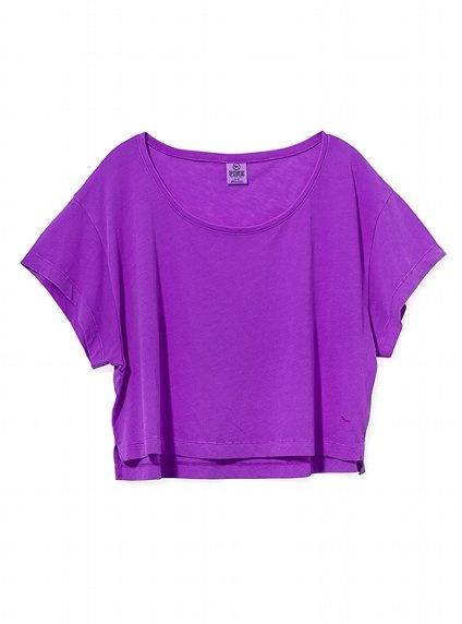 Rock the Crop #VSPINK #Purple