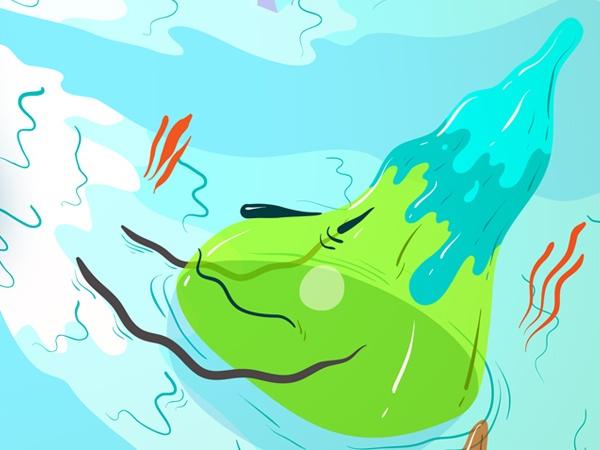 Fresh Monsters by Kitră , via Behance