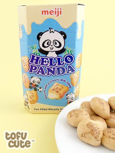 """Milk"" flavored Hello Panda, by Meiji. Pretty good, but they've got nothing on Koala March!"