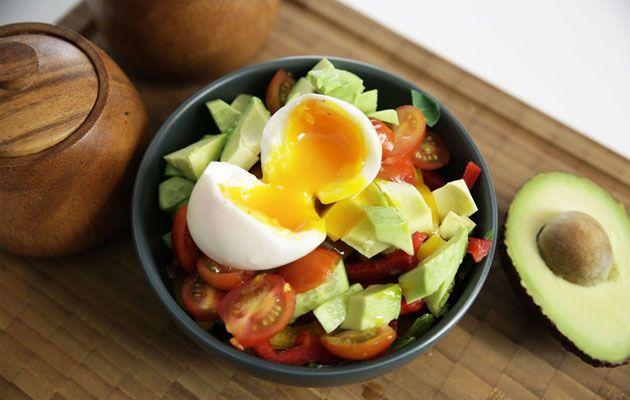 Hızlı Kahvaltı Salatası Tarifi
