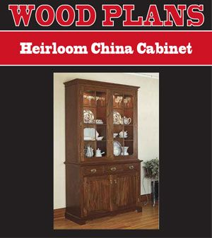 China Cabinet Plans Plans For A Cabinet China Cabinet Cabinet Plans Cabinet