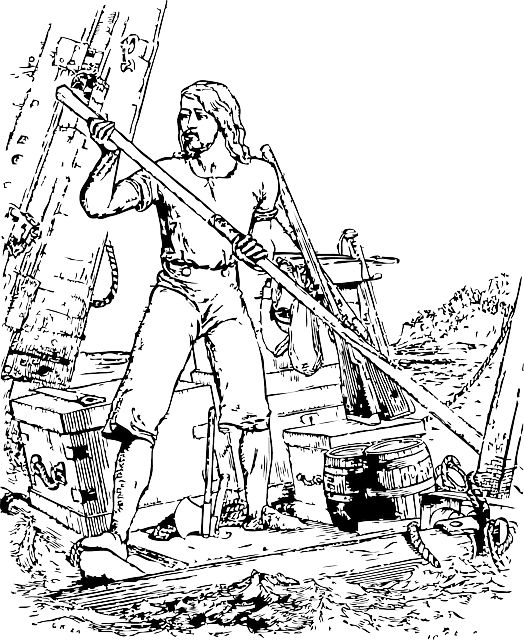 Photo By Clker-Free-Vector-Images | Pixabay   #robinson #crusoe #man #writing #writingcommunity #writings #writinglife #writingprompts