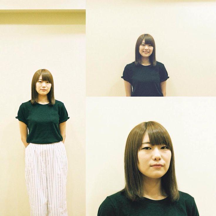 綺麗なストレートヘアですね  #ヘアカラー #ヘアスタイル #ストレート#haircolor #hairstyle #ミネドラッグ #東中野 #tokyo#nakano
