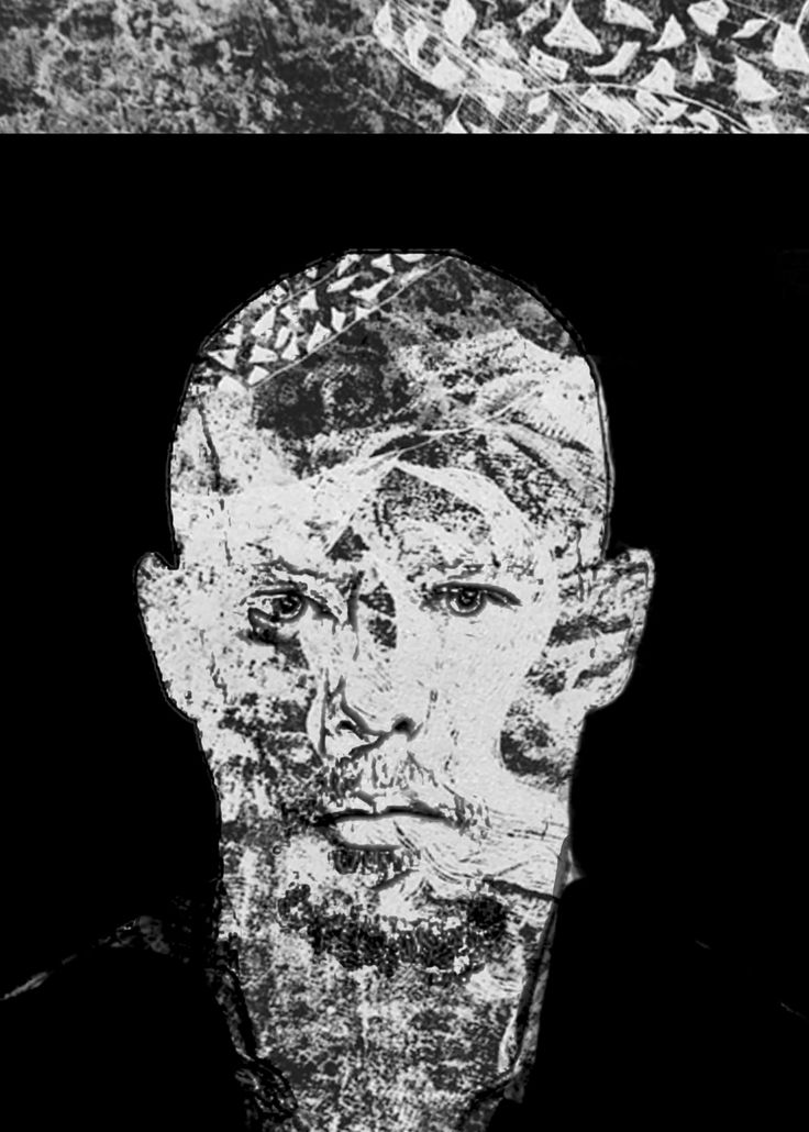 Alexander Mcqueen portrait by valentini mavrodoglou mixed media 2017 #valentinimavrodoglou #AlexanderMcqueen #illustration #graphicdesign